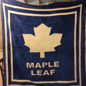 Other - Maple leaf mink blanket made in Korea 200 x 240cm